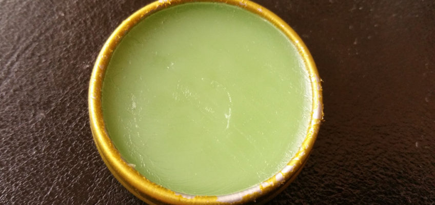 Homemade Antibacterial Healing Balm