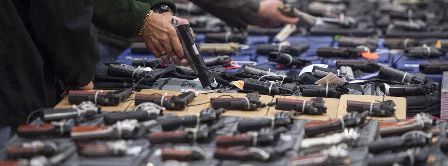Preparing for a gun ban