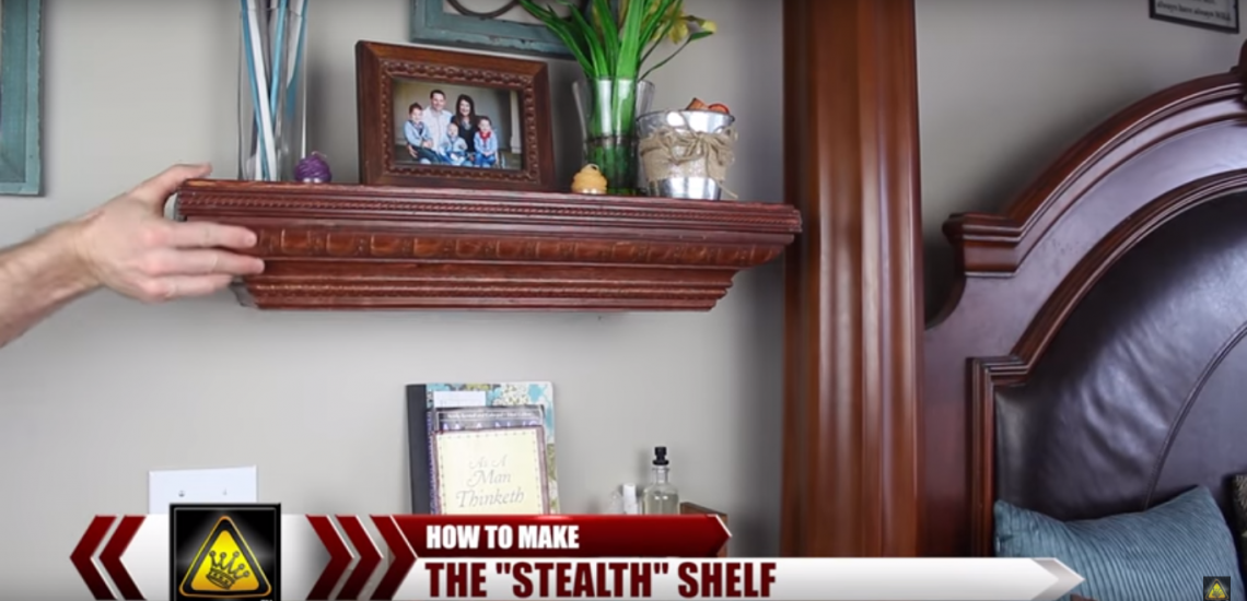 How to Make a Stealth Shelf (Video)