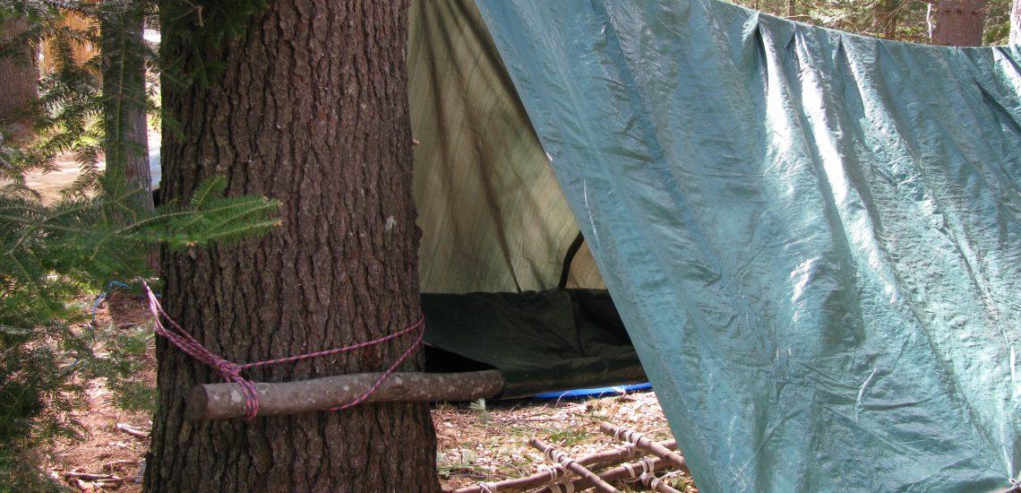 Tips for Tarp Shelters