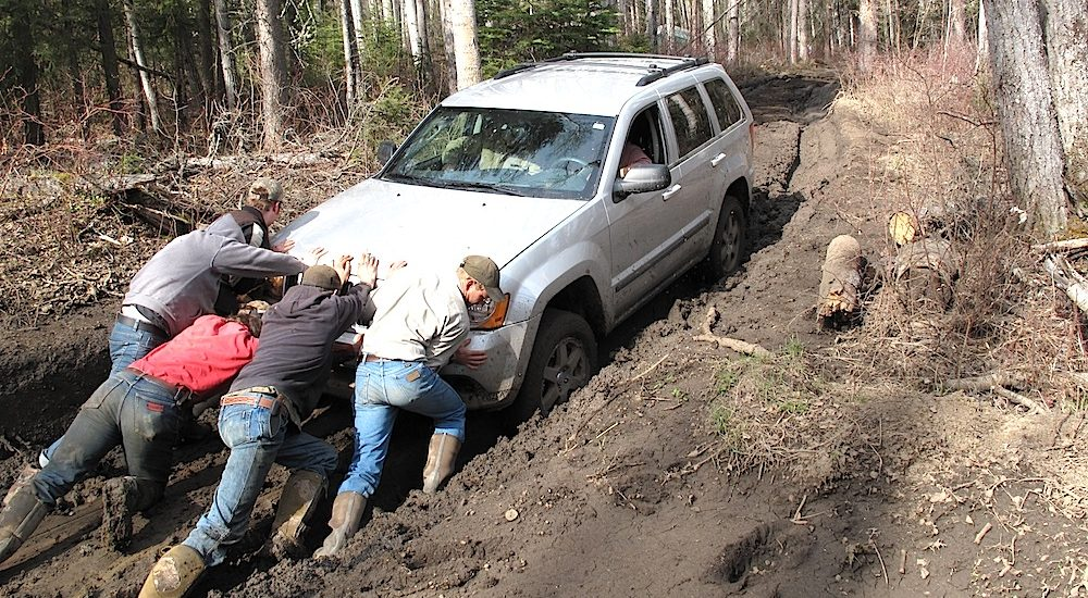 Tips for Getting Your Vehicle Unstuck