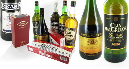 Cigarettes and Booze for Survival