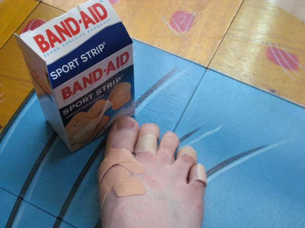 taking care of blisters