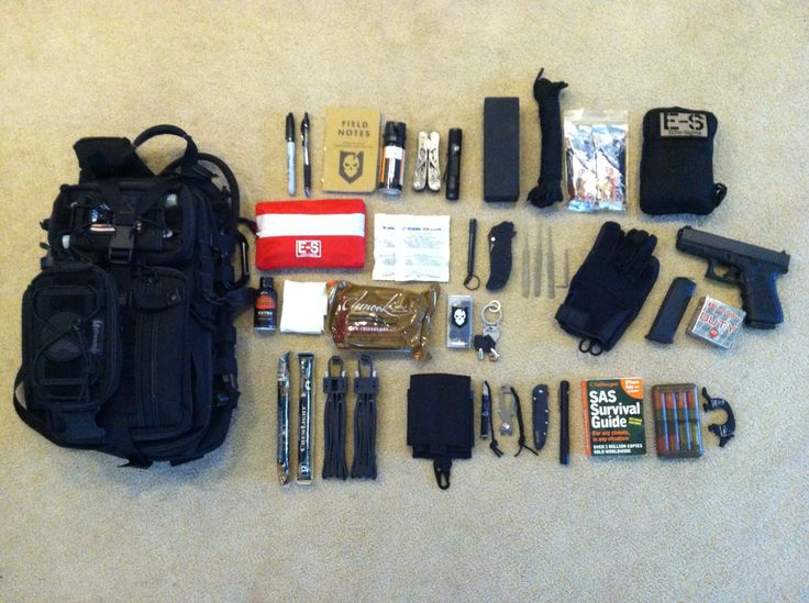 "What You Need in a ""Get Home Bag"""