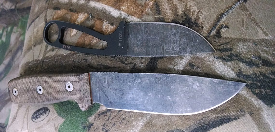 How to Add a Patina to Your Carbon Knife Blades