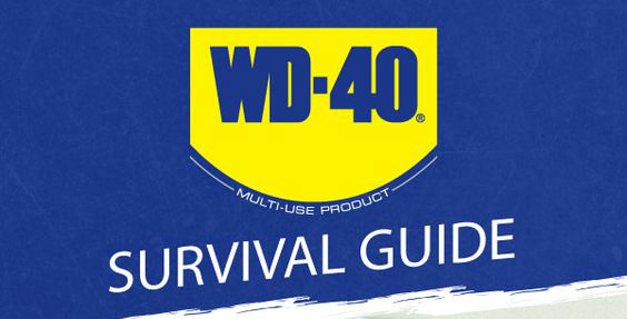 WD-40 for Survival (Infographic)