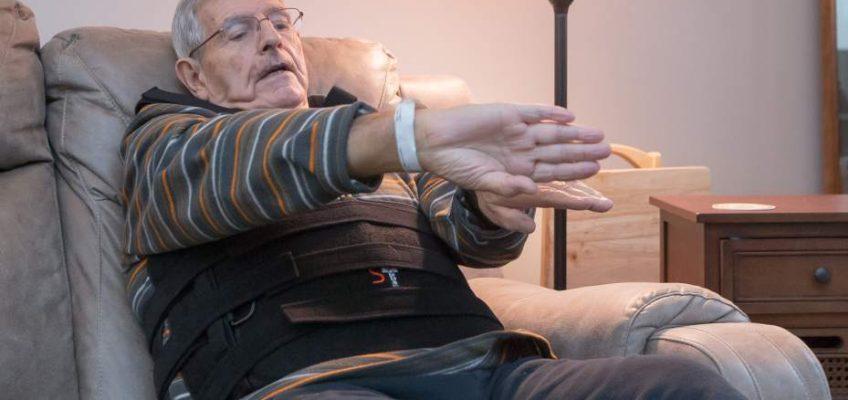 Elderly Hiker Survives 30 Foot Fall