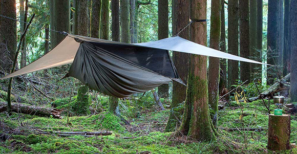 Medium image of benefits and drawbacks to hammock camping