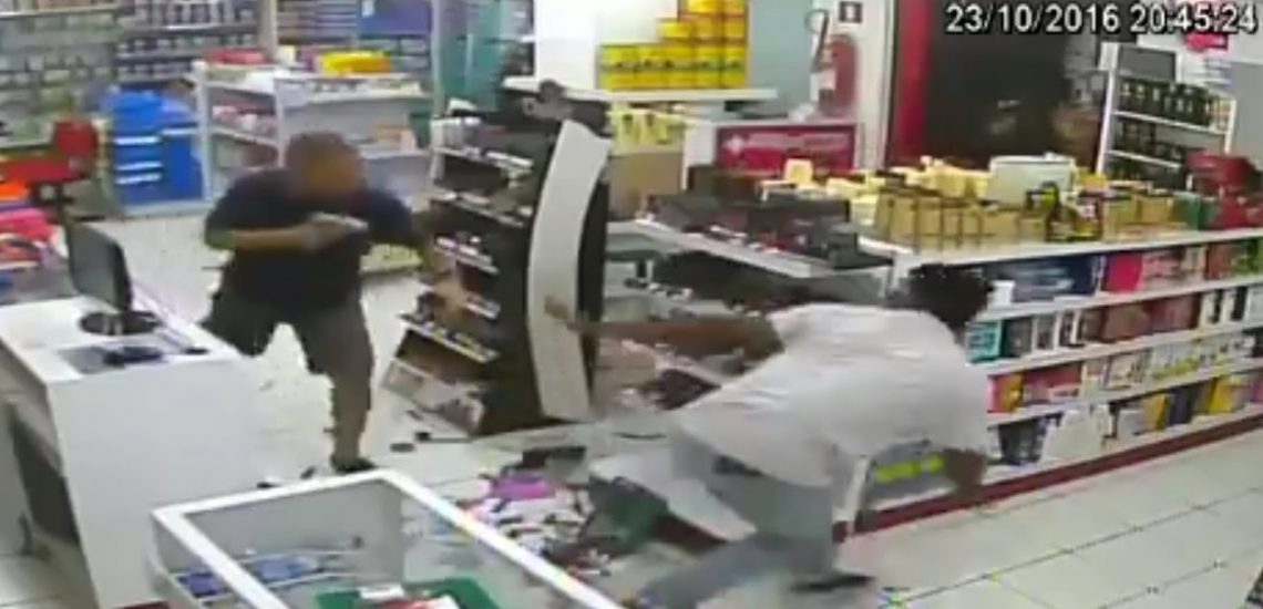 What we can Learn From a Failed Armed Robbery (CCTV)