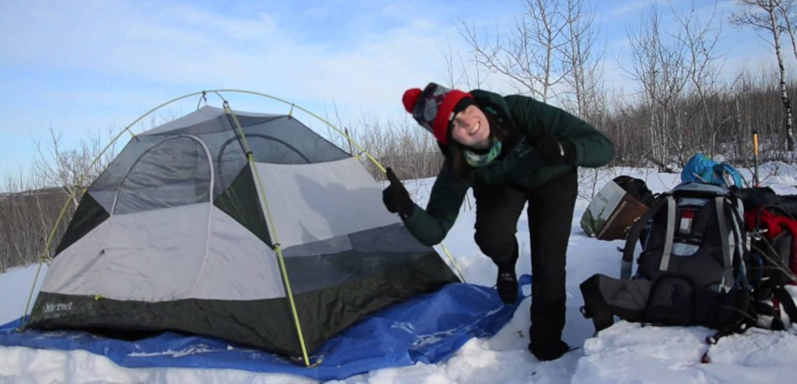Winter Camping (Video)