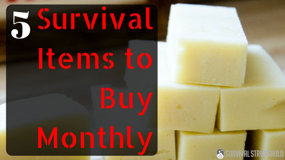 5 Preparedness Items to Buy Monthly