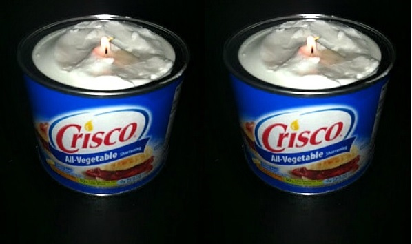 How to Make a Candle From Crisco