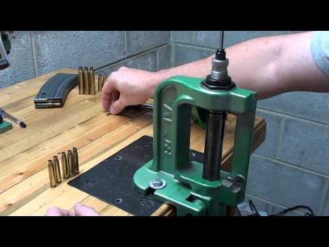 Basic Reloading of a Rifle Cartridge (Video)