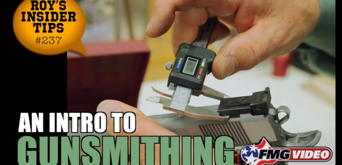 An Intro to Gunsmithing (Video)