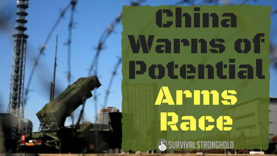 Survival News: China Warns of New Arms Race