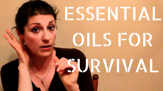 Essential Oils for Survival (Video)