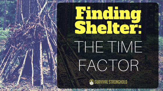 Finding Shelter: The Time Factor