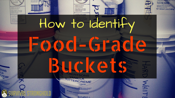 How to Identify Food-Grade Buckets