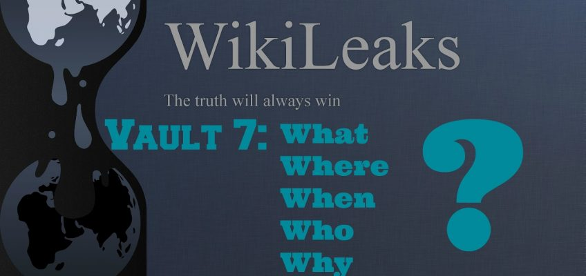Survival News: Wikileaks' Vault 7