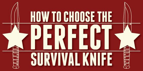 How to Choose a Survival Knife (Infographic)