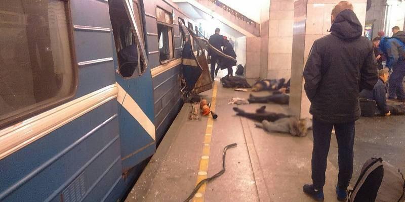 Blast Kills 11, Injures Dozens in St. Petersburg (Video)