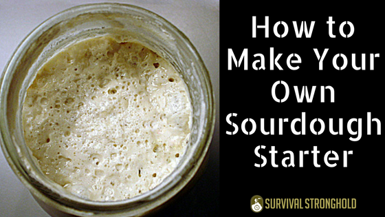 how to make your own sourdough starter
