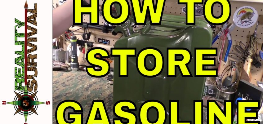 How to Store Gasoline for Survival (Video)
