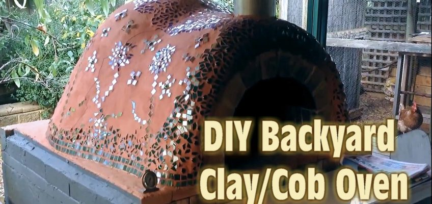 The Ultimate Clay Cob Oven (Video)
