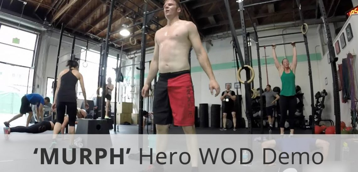 """Murph CrossFit"" Challenge for Memorial Day (Video)"
