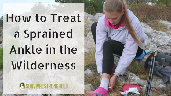 Treating Sprains in the Wilderness